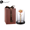 Daiya Champagne Pink Rose 24K Gold /gold Leaf+The Glass Cover