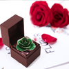 Love's Only Dark Green Gold Rose (natural Rose)