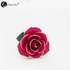 Rose Red Rose with Silver Roses