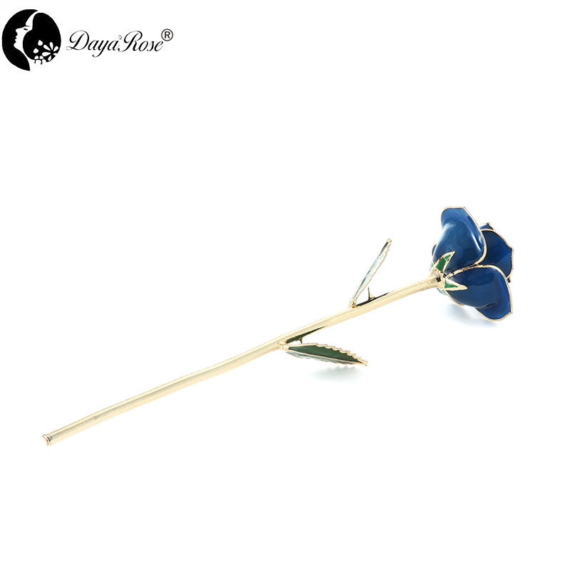 Wholesale Processing Customized Diana Light Blue Gold Rose