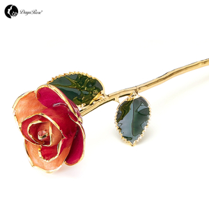 European Edition Gold Rose Wholesale Christmas Gift (Custom Style)